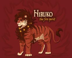 Hiruko the Fire Spirit by akeli