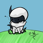 Chibi Absol by altimis