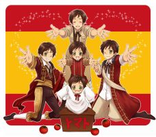 Axis Powers Hetalia Spain by Battagua