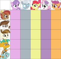 [MLP:FiM] Adopt: School Foal Ship Chart (CLOSED) by Monthly-DTAs
