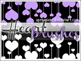 +HEART BRUSHES by UpThebiebs