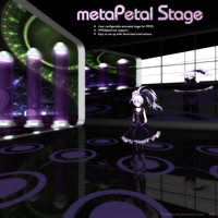 MMD metaPetal Stage Set by Trackdancer