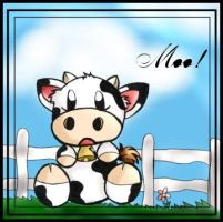 old brown cow 061603 by happycat