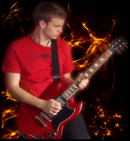 Heaven and Hell Guitar by Robbanmurray