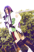 Dont mess with the samurai.. Saeko Busujima Cospla by Shady-Chan