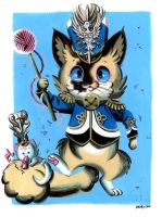 Brogurt the Marching Band Cat by Pocketowl