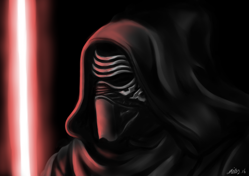 Kylo-Ren by Pink-Scribble