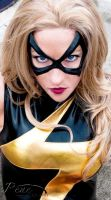 Ms. Marvel Close up by megmurrderher