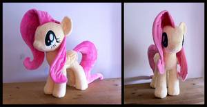 Fluttershy Plush V7 by Wild-Hearts