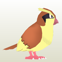 Pidgey Papercraft by Sabi996