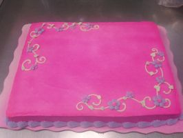 Super Girly Cake by AingelCakes