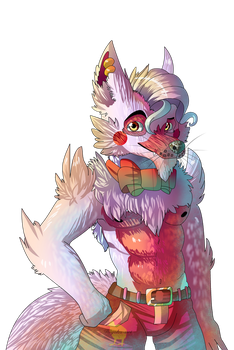 Here is the smexy fox [Male Mangle/digital] by Hiyoko-little-chick