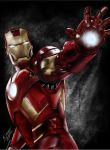 Iron Man! by QuaintArt