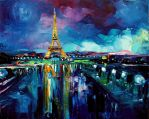 Parisian Night by sagittariusgallery