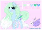Amaranthine Sky Reference by FluffyMaiden