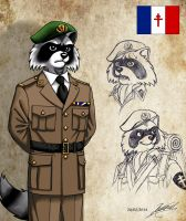 Shadow commandos : Louis de Rastignac by RaynalJacquemin
