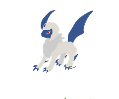 Absol by growlithefire74