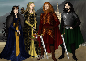 The Four Founders by Redbayly
