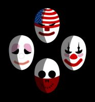 Simple Payday 2 Masks by Epheris4883