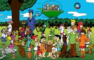 Hanna-Barbera Universe_color by TheVampireMouse