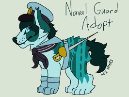 Naval Guard Dog Adopt CLOSED by TherealNightstripes