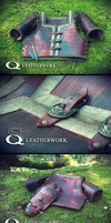 Armour set (light scout without model) by SqLeatherwork