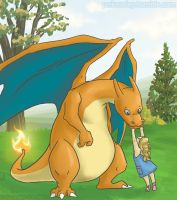 Charizard alt color by Pokeaday