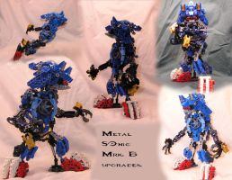 Metal SOnic Mrk.B upgrades by woodduckprime