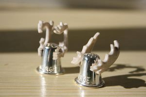 Thimble with horns by LARvonCL
