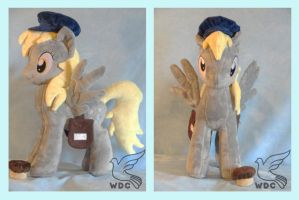 Derpy on a Muffin Run by WhiteDove-Creations