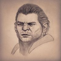 Varric by Crolossus