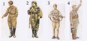 Ronastre Military Uniforms 2 by Party9999999