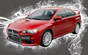 Mitsubishi Lancer Evolution X by djNecro