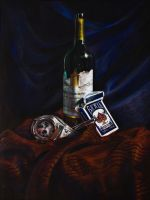 Color pencil still life by krenx