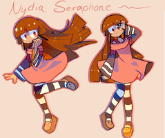 Nydia Seraphone redesign by MisterCakerz