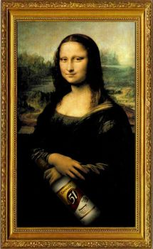 Drunk Gioconda by Hacheke