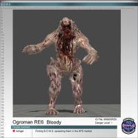 Ogroman RE6 Bloody by Adngel
