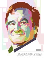 Robin Williams in WPAP by putuebo