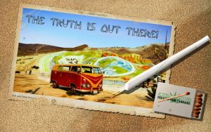 Postcard #18 The Truth ...    (BTW: I dont smoke!) by Koalindl