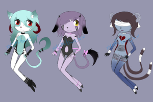 Adoptables by kh-lover-forever