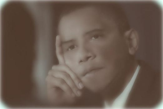 Young Obama by Stream-Weave