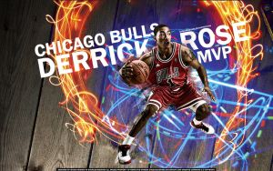 Derrick Rose MVP Wallpaper by Angelmaker666