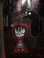 once upon a horror-Little red riding hood by ScorpionsKissx