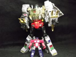 Optimus Prime has a secret weapon by forever-at-peace