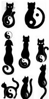 Kitty Tattoos by Ryoun-Atsumi