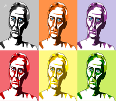 Grand Moff Tarkin-pop art by InfamouslyDorky
