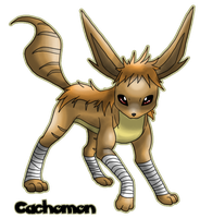 Eeveelution: Maneon by Cachomon