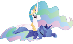 Sisters of Day and Night by WraithX79