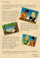 Letter from Myrcella to Tommen by guad
