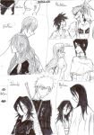 My Bleach OTPs by ClaudySummer